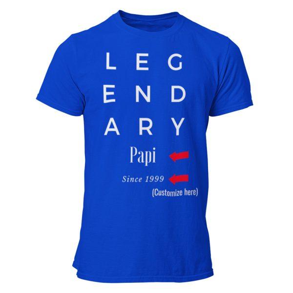Custom Legendary Dad / Father Gift Shirt