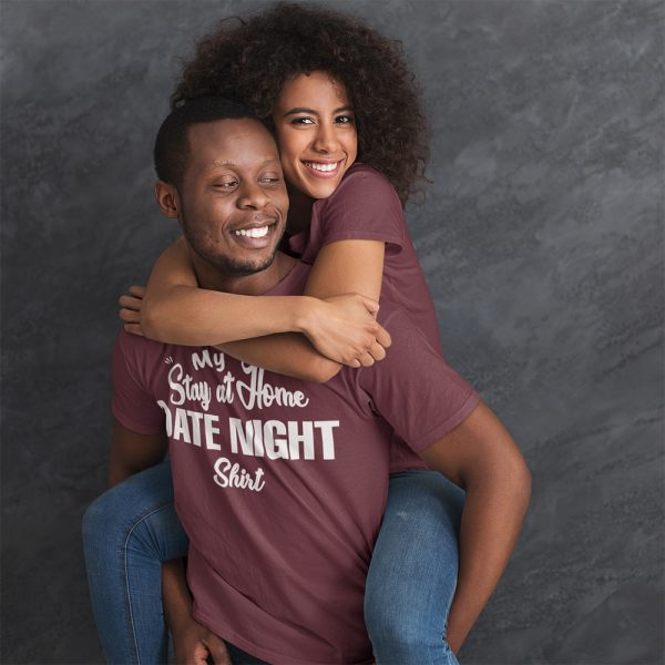 Mens Stay At Home Date Night Shirt